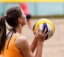 Тульские волейболистки открыли сезон на пляже в Центральном парке