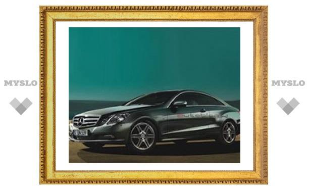 В сети появились первые снимки купе Mercedes-Benz E-Class