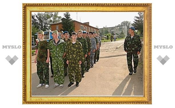 В чернской школе ввели армейские порядки