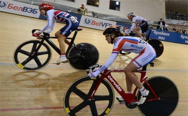 Тульская велосипедистка удачно стартовала на Чемпионате Европы в командной гонке