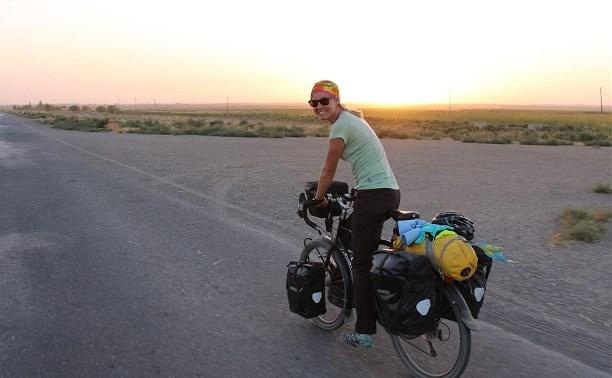 Шведская велотуристка планирует проехать из Швеции в Новую Зеландию через Тульскую область