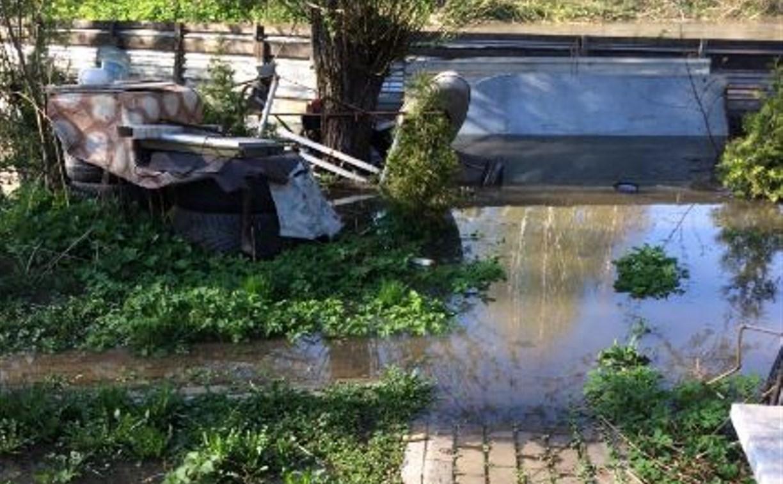 Тулячка: «Уровень воды в р. Воронка поднялся почти на 1,5 метра. Подтопило участки!»