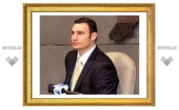 Боксер Виталий Кличко будет бороться за кресло мэра Киева