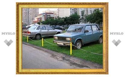 Туляков будут штрафовать за организацию незаконных парковок