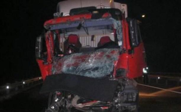 На трассе М2 «Крым» столкнулись две фуры