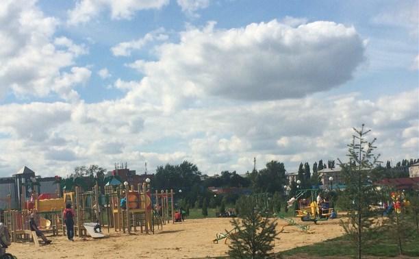 Парк в Ефремове расширят