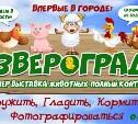 Юных туляков  и их родителей приглашают в «Звероград»