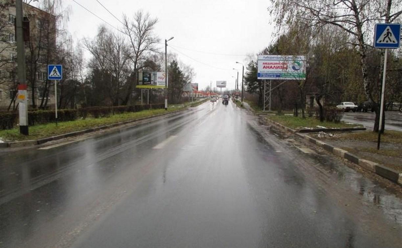 В Алексине «Шевроле» сбил мужчину на пешеходном переходе
