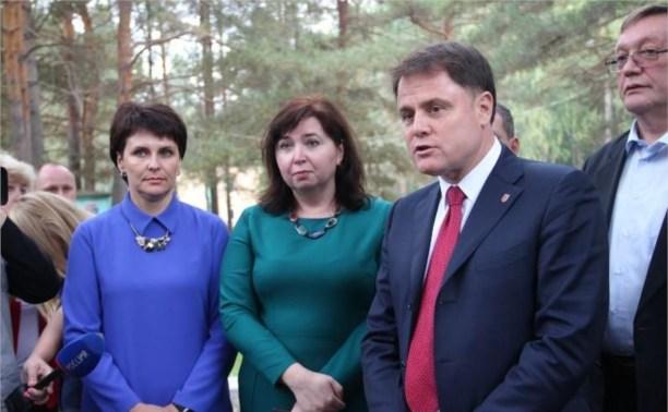Владимир Груздев посетил пункт временного размещения беженцев из Украины