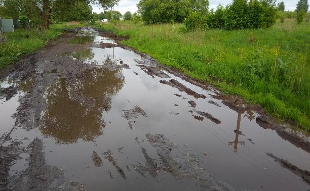 Жители д. Бобровка: «Из-за отсутствия дороги к нам не могут проехать ни врачи, ни пожарные»