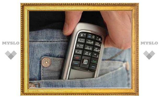 В Туле поймали «телефонного» вора