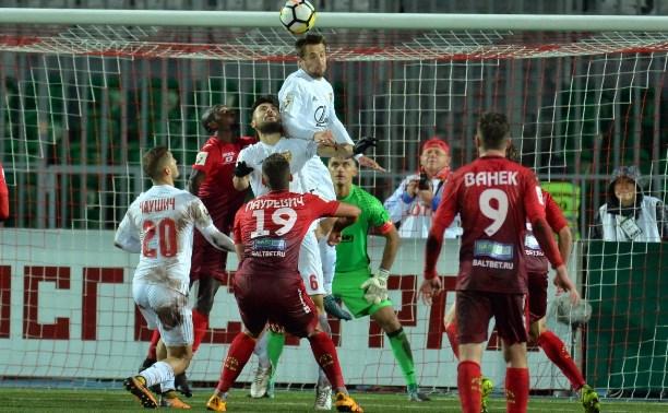 «Уфа» обыграла тульский «Арсенал»: 1:0