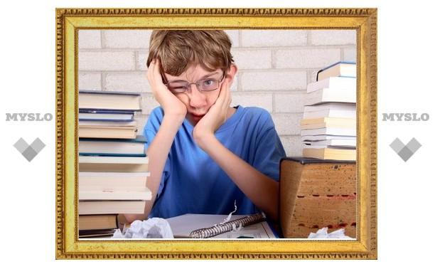 В Ефремове дети-инвалиды не получали бесплатные учебники