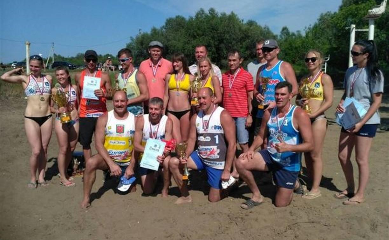 Туляки заняли второе место в турнире по пляжному волейболу