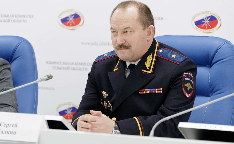 Начальник Тульского УМВД: «До осени вакцинируются почти 100% сотрудников полиции»