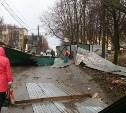 В соцсетях появились фото последствий шторма и грозы