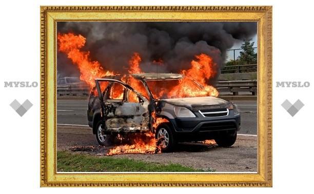 В Туле опять появились поджигатели автомобилей