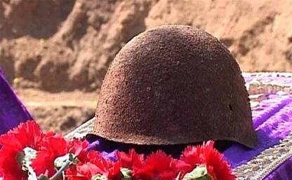 Под Белёвом обнаружили останки красноармейца