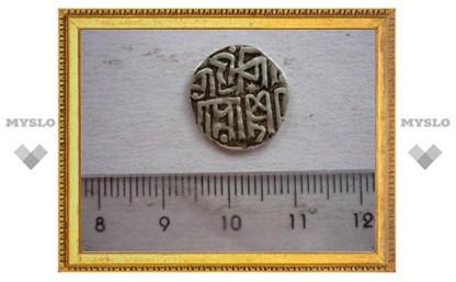 На Куликовом поле нашли золотоордынскую монету