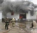 В Скуратово загорелось предприятие по производству бумаги