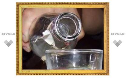 В Туле изъято более 1000 литров паленой водки
