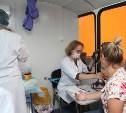 В торговых центрах туляки могут сделать бесплатную прививку от гриппа