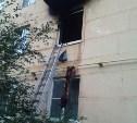 В Суворове из горящей квартиры пожарные спасли мужчину