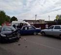 В Кимовске «Форд» на встречке протаранил две машины