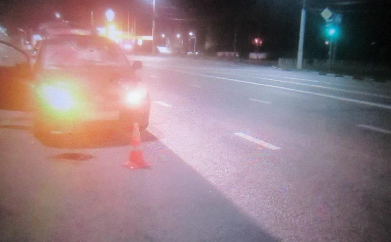 Ночью в Туле на ул. Октябрьской сбили пешехода