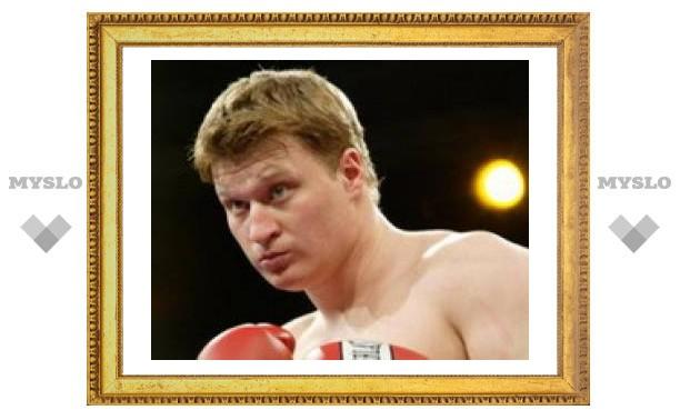 Поветкин подписал контракт на бой с американцем