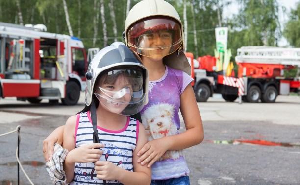 Юные туляки на время стали пожарными