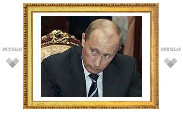 Рейтинг Владимира Путина снизился до 77 процентов