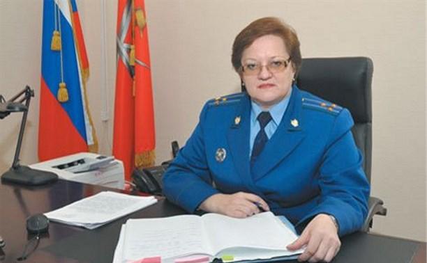 Опубликован официальный указ об увольнении Татьяны Сергеевой с должности руководителя тульского СУ СКР
