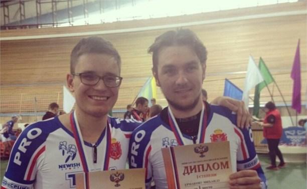 Туляки завоевали золото на чемпионате России по велоспорту «тандем-трек»