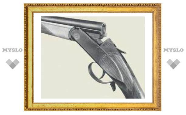 Житель Ефремова прятал в сарае ружье