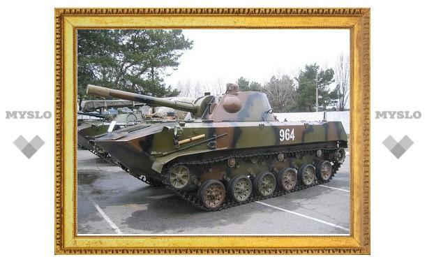 В Центр Тулы вошли танки