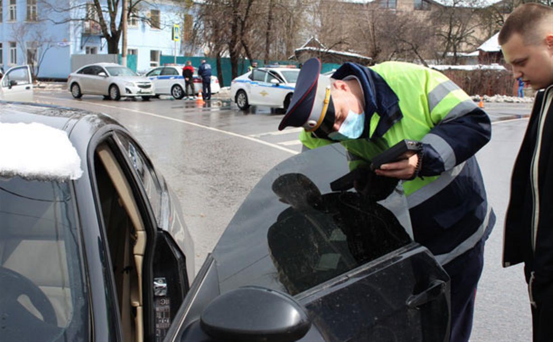 В Туле за сутки выявили 123 авто с чрезмерной тонировкой