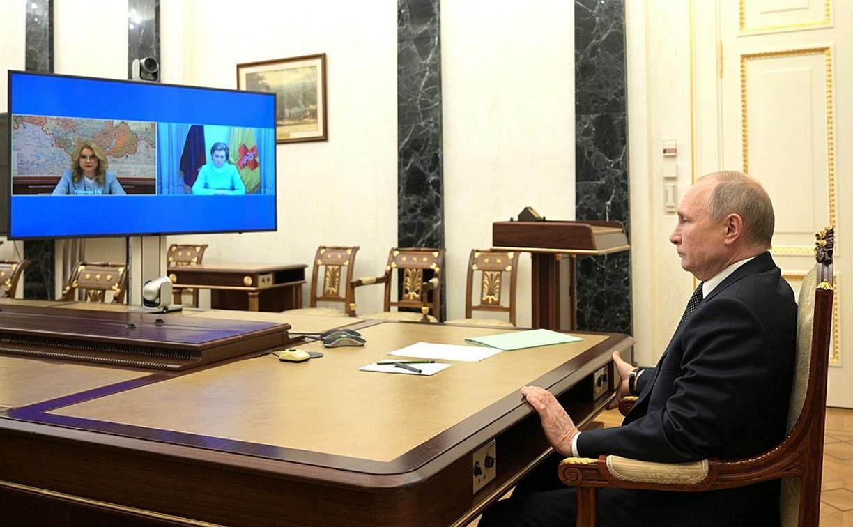 Путин объявил выходные в России с 1 по 10 мая