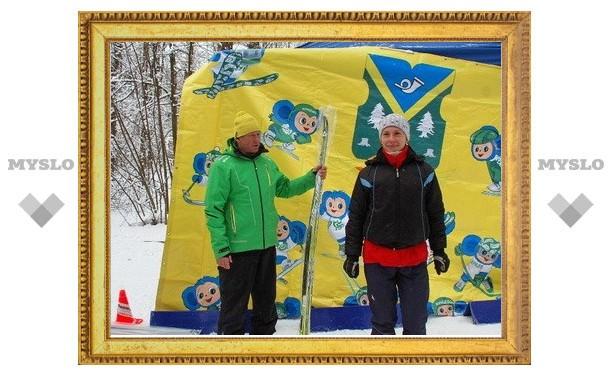 Тульская лыжница стала первой в гонке на выживание