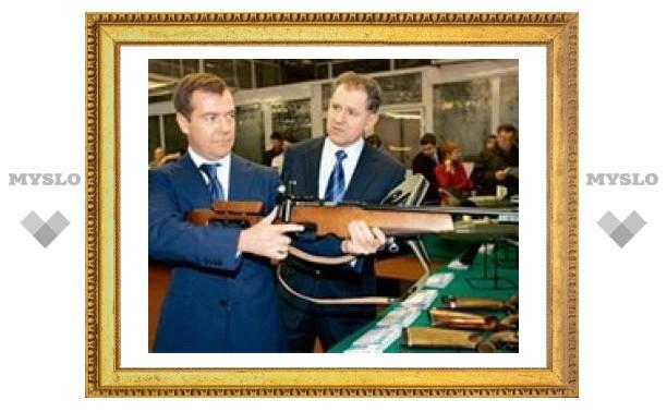 В Туле президент посетит музей оружия