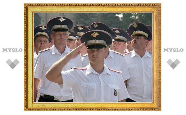 В Туле отметили день ГИБДД
