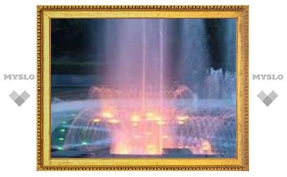 В тульские фонтаны падают дети