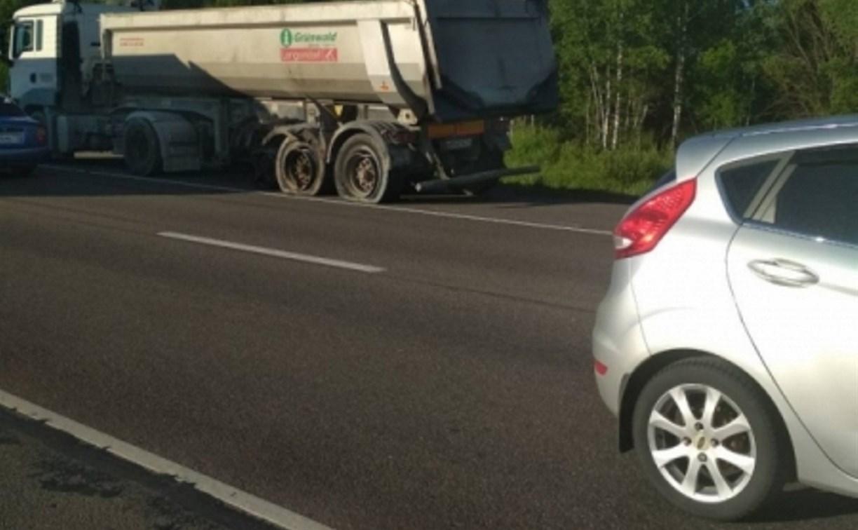 В Щекинском районе на трассе «Крым» столкнулись пять машин