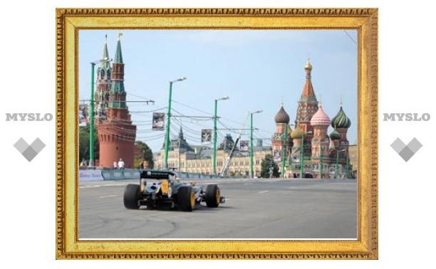 """Центр Москвы перекроют ради """"Формулы-1"""""""