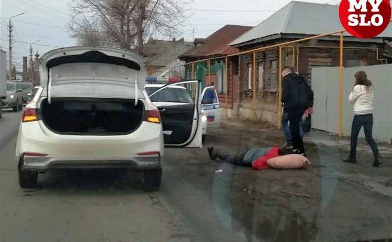 На ул. Карла Маркса в Туле таксист сбил пешехода