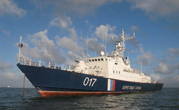 Корабль «Василий Грязев» принял участие в морском параде