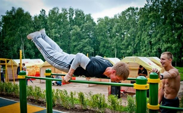 Скоро туляки смогут заниматься физкультурой во дворах своих домов