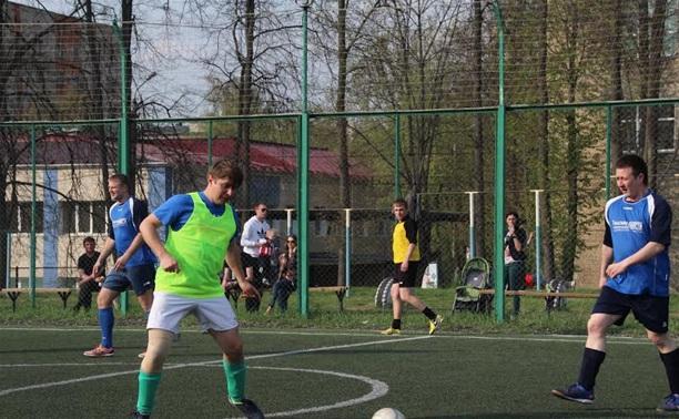 Тульские журналисты сыграли с коллегами из Москвы в футбол