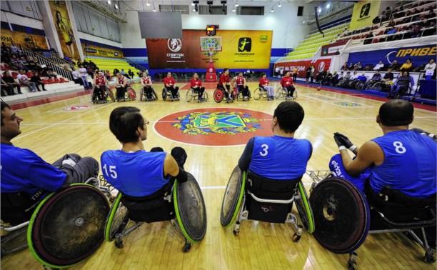 В Алексине проходит чемпионат России по баскетболу на колясках