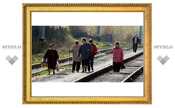 Тульские дачники мучаются в поездах